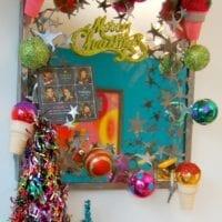 DIY Christmas Ice Cream Cone Ornaments by Jennifer Perkins