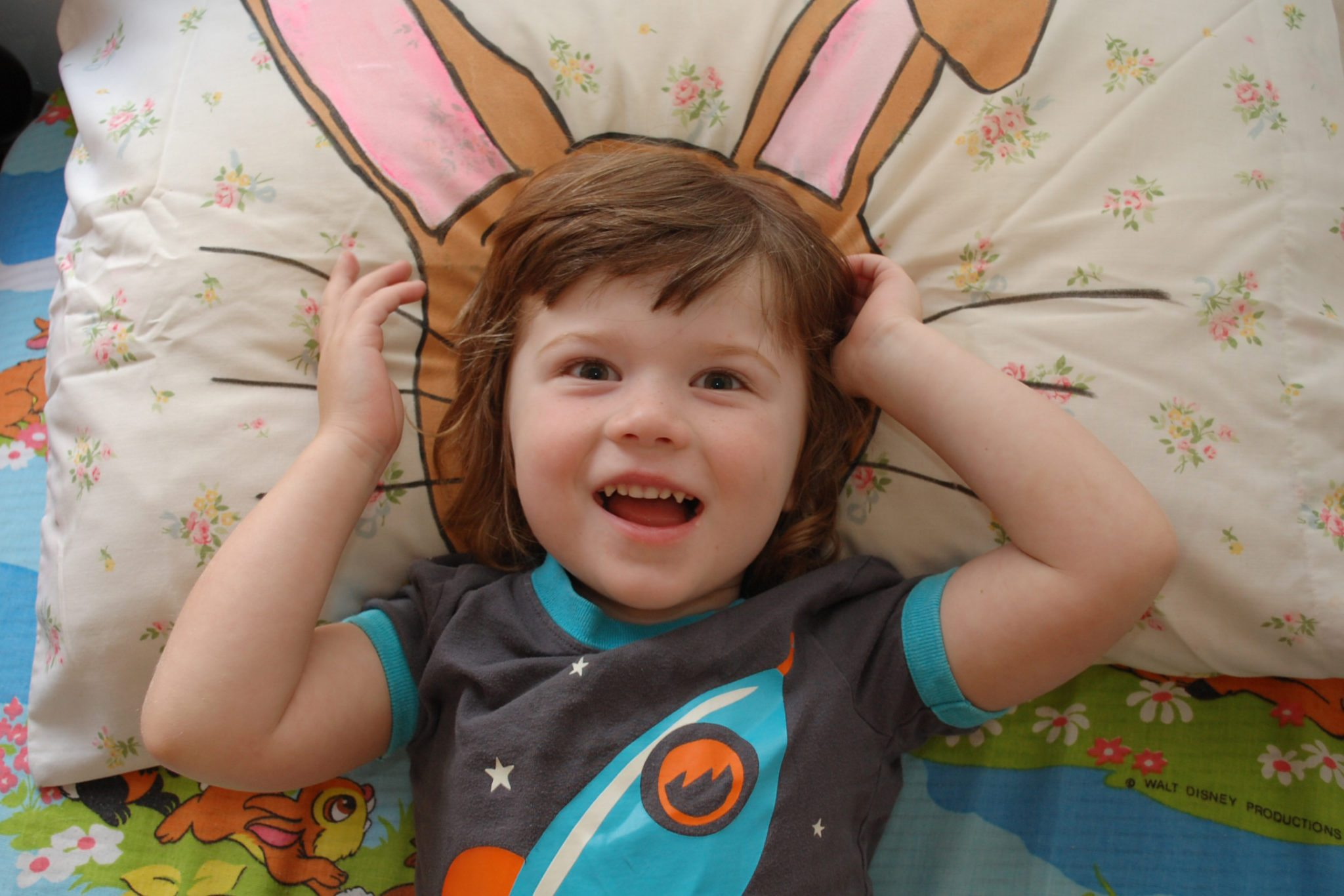 How to make an Easter themed pillowcase.