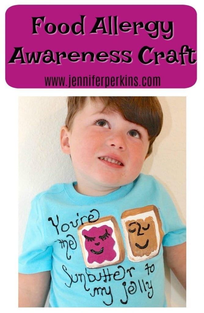 Food Allergy Craft for Awareness week
