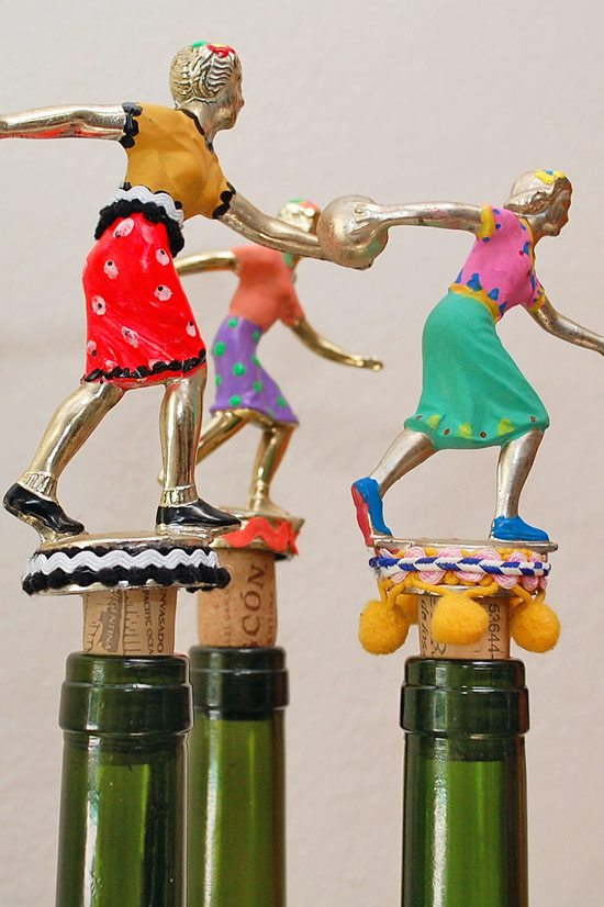 Trophy-wine-corks---atop-bottles