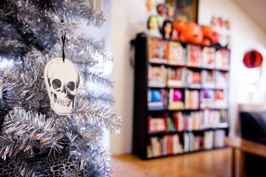 Halloween Tree Silver