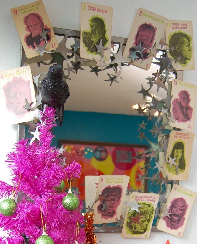 Halloween Tree hot Pink1