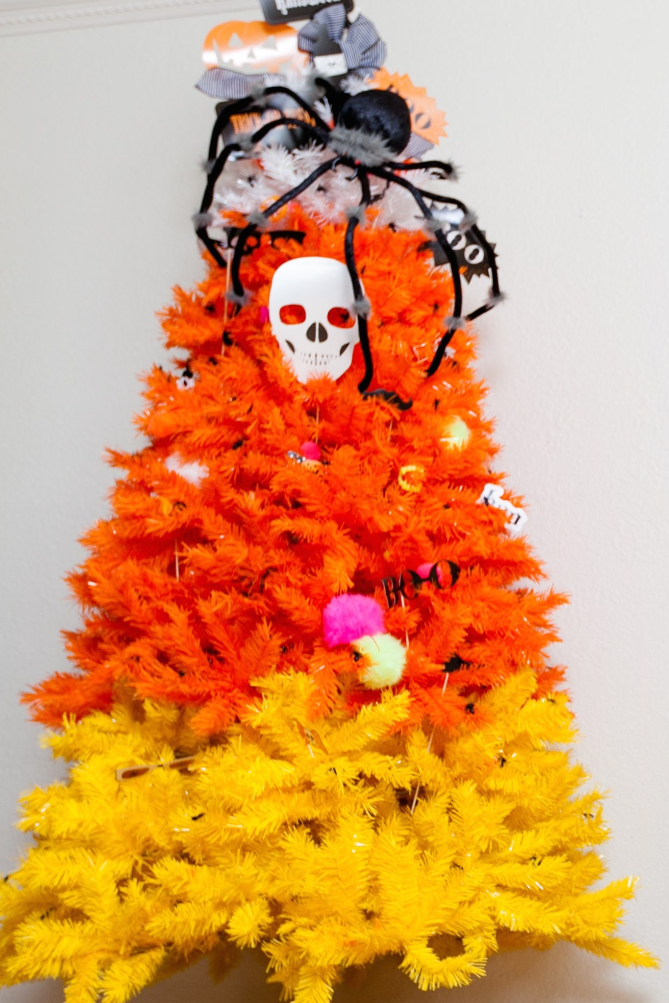 candy-corn-christmas-tree