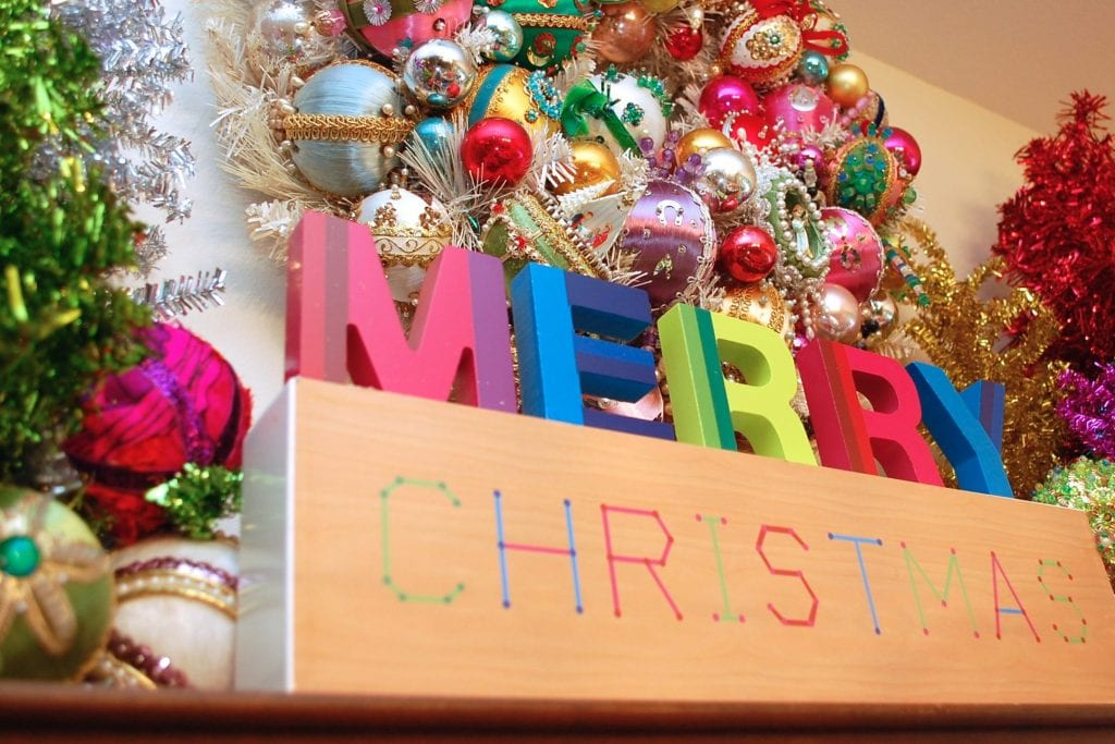 Vintage Inspired Kitschy Sequin Ornaments DIY Jennnifer Perkins