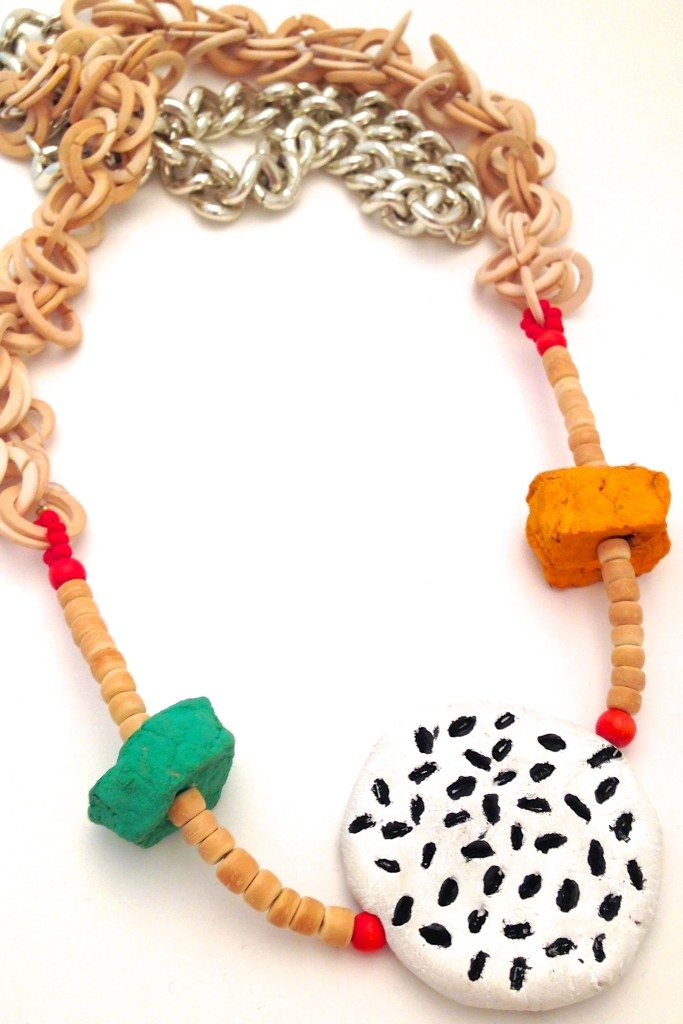 Air Dry Clay Jewelry by Jennifer Perkins