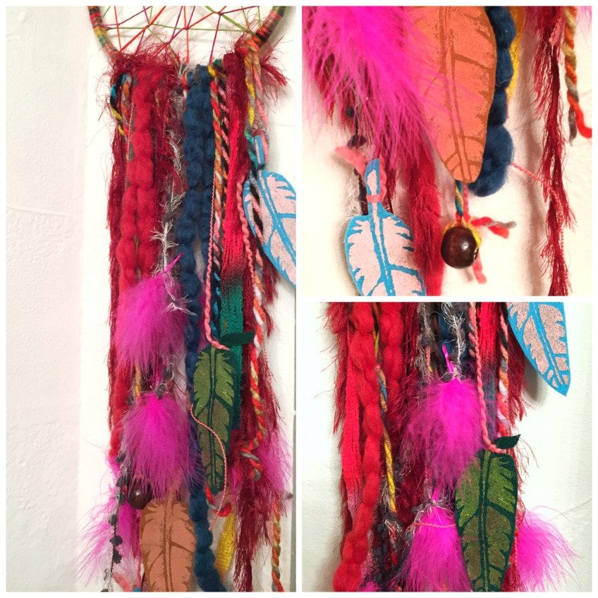 stenciled-feather-dreamcatchers