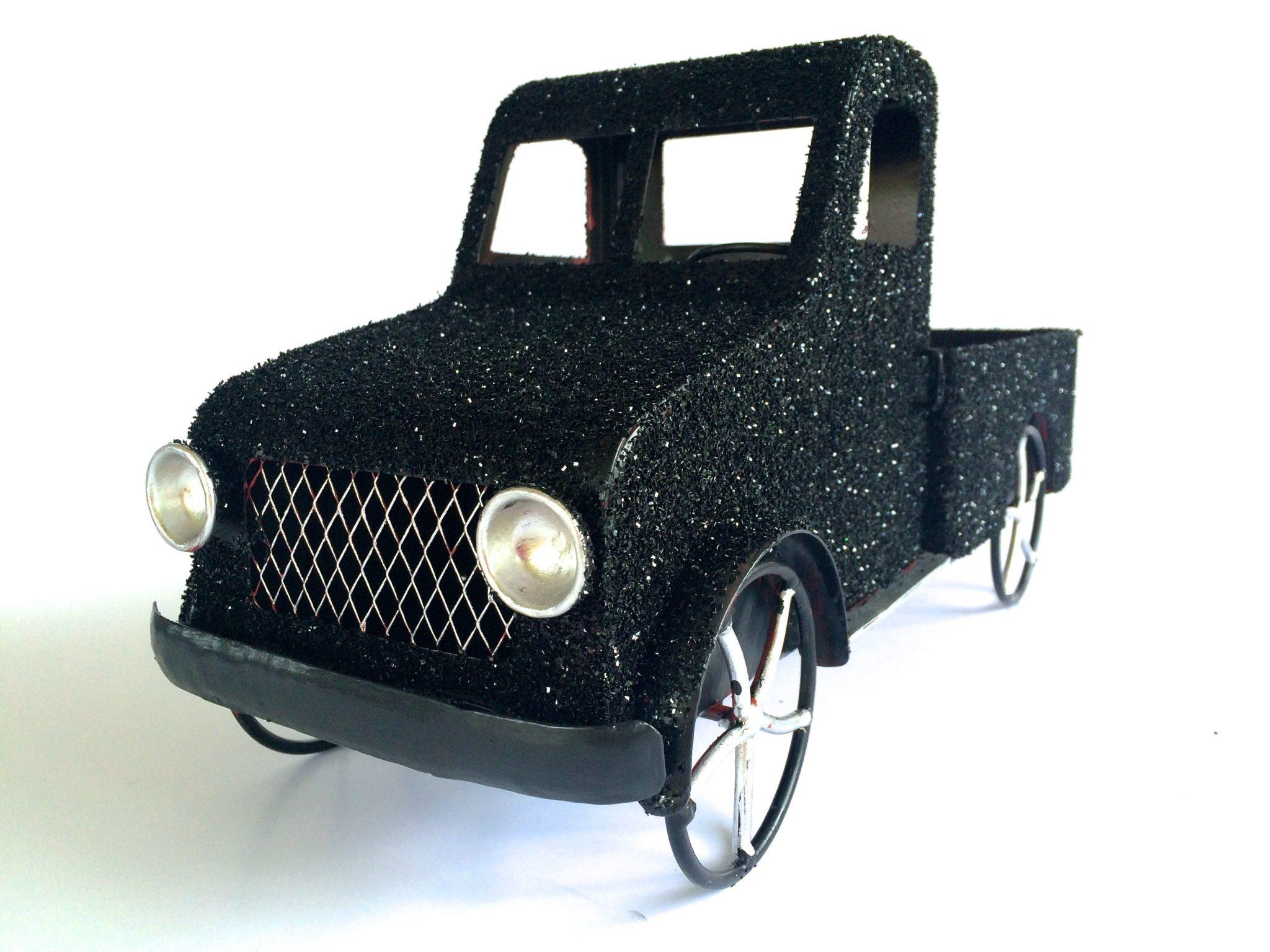 black-truck-glittered