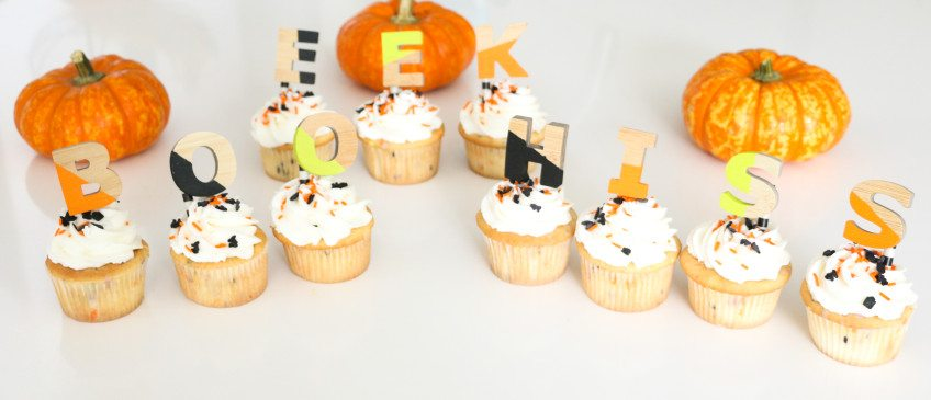 How to Make Halloween Cupcake picks.
