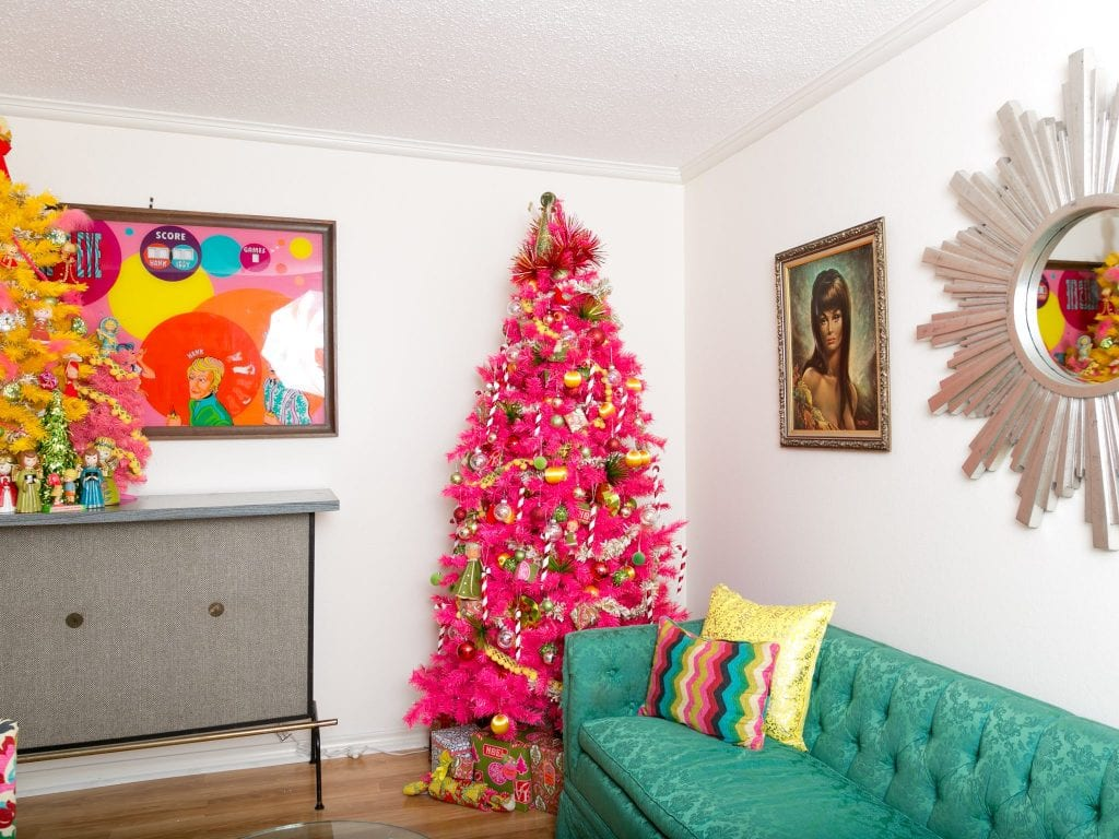 kitschy-christmas-pink-tree - Jennifer Perkins
