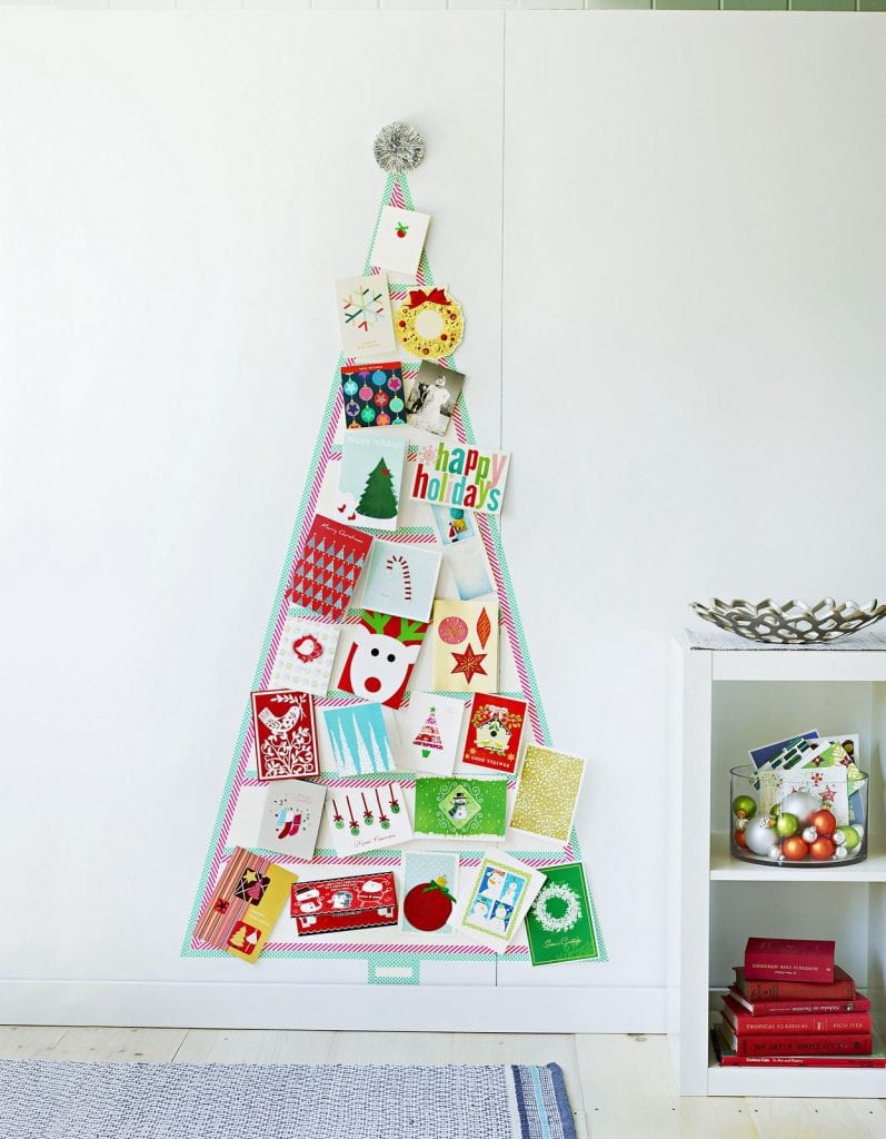4 Fun Festive Ways To Display Your Holiday Cards