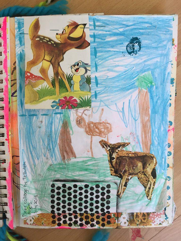 art journaling with children.