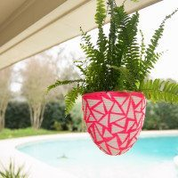 How to Recycle plastic Easter eggs into a planter.