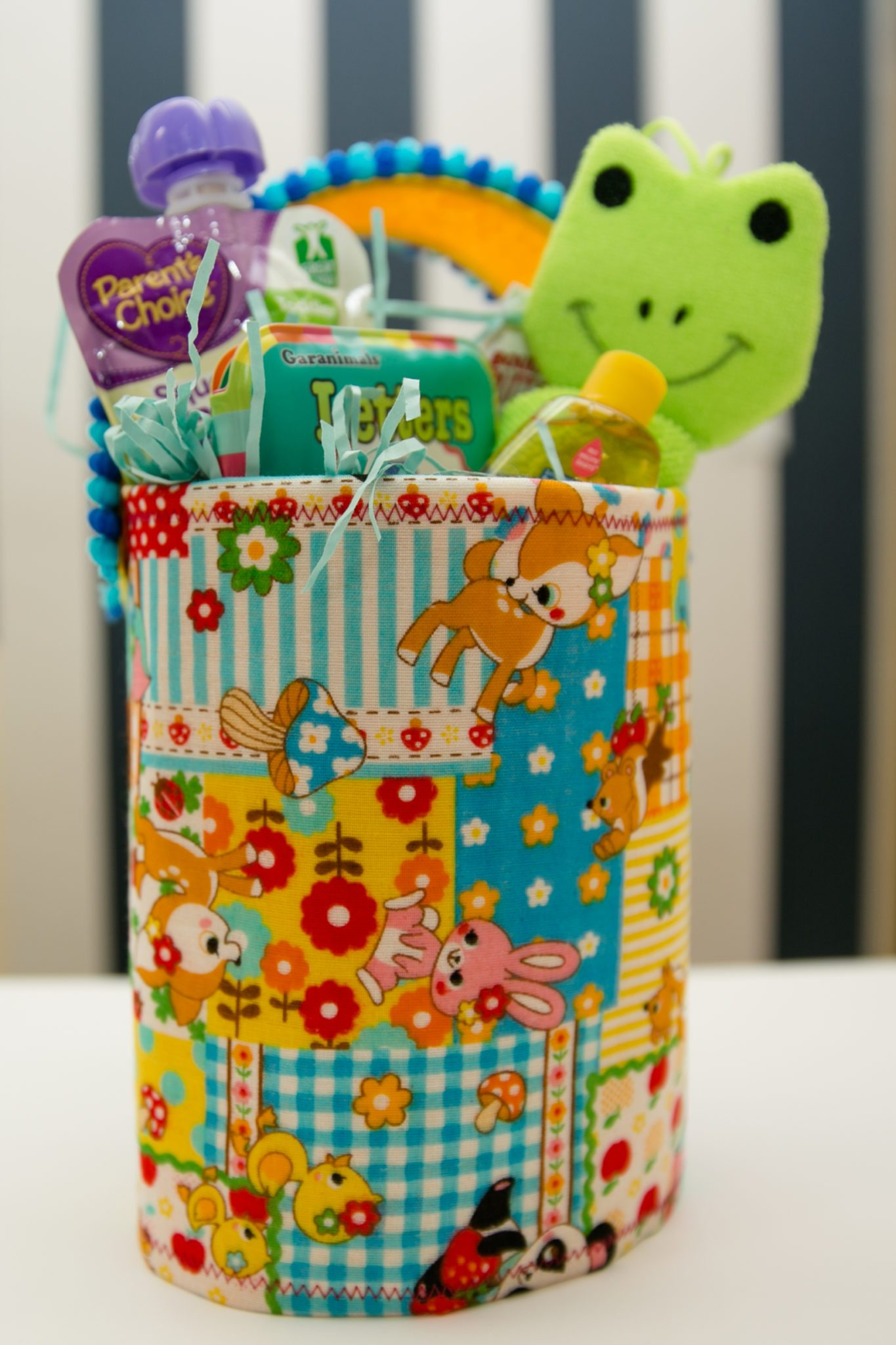 What to put in an Easter basket for babies.