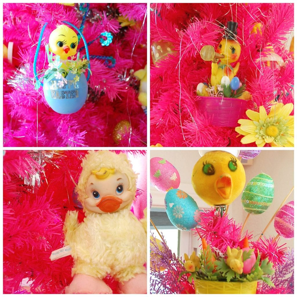 How to decorate an Easter tree.