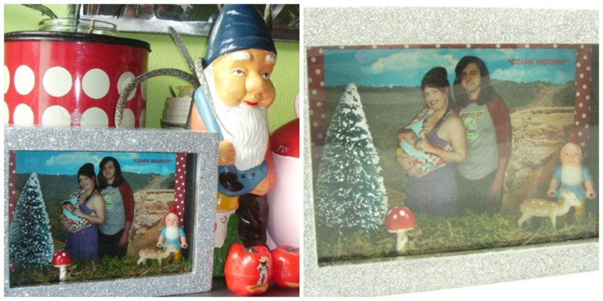 How to make a gnome diorama picture frame.