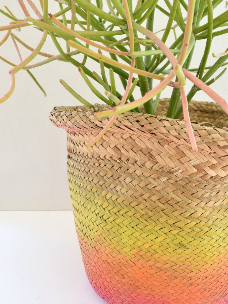 ombre basket 2