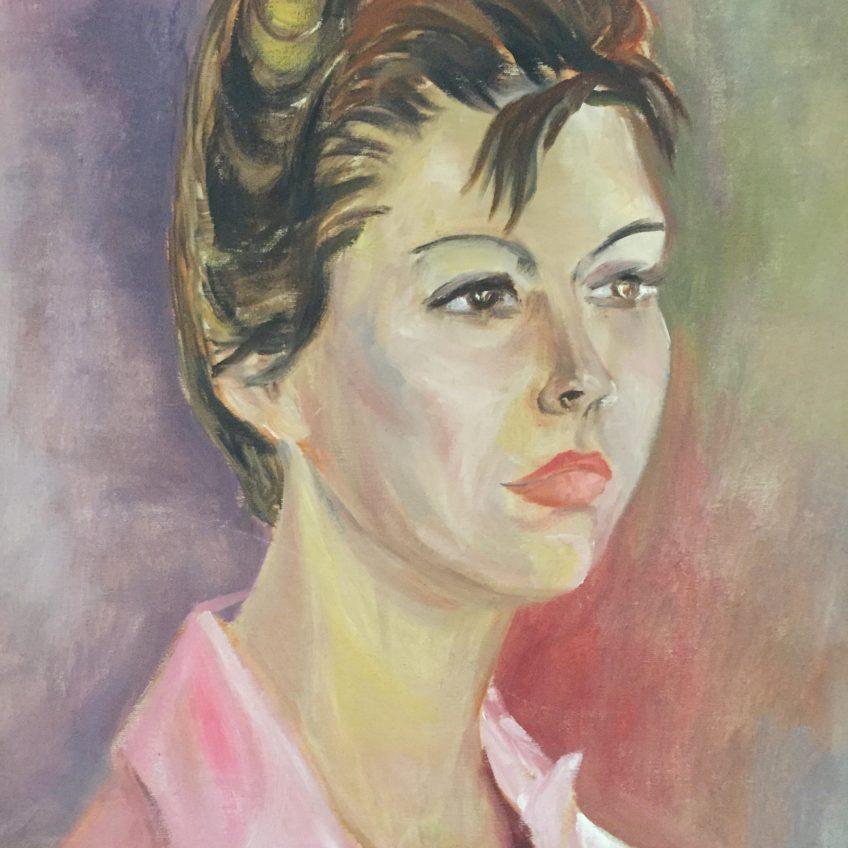 vintage-woman-painting
