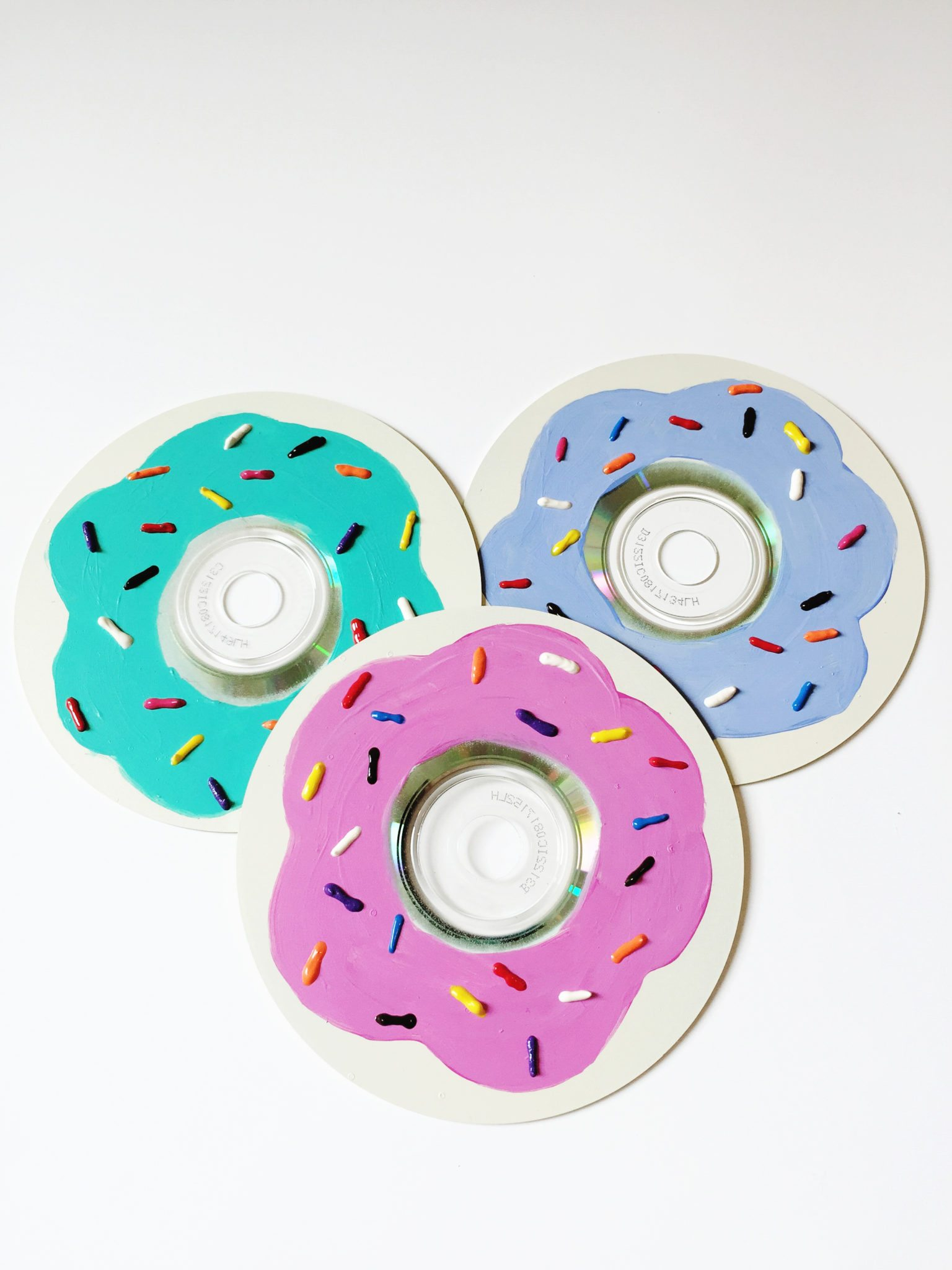 How to make DIY donut ornaments.