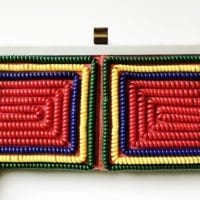 Vintage phone cord purse for sale on Etsy.