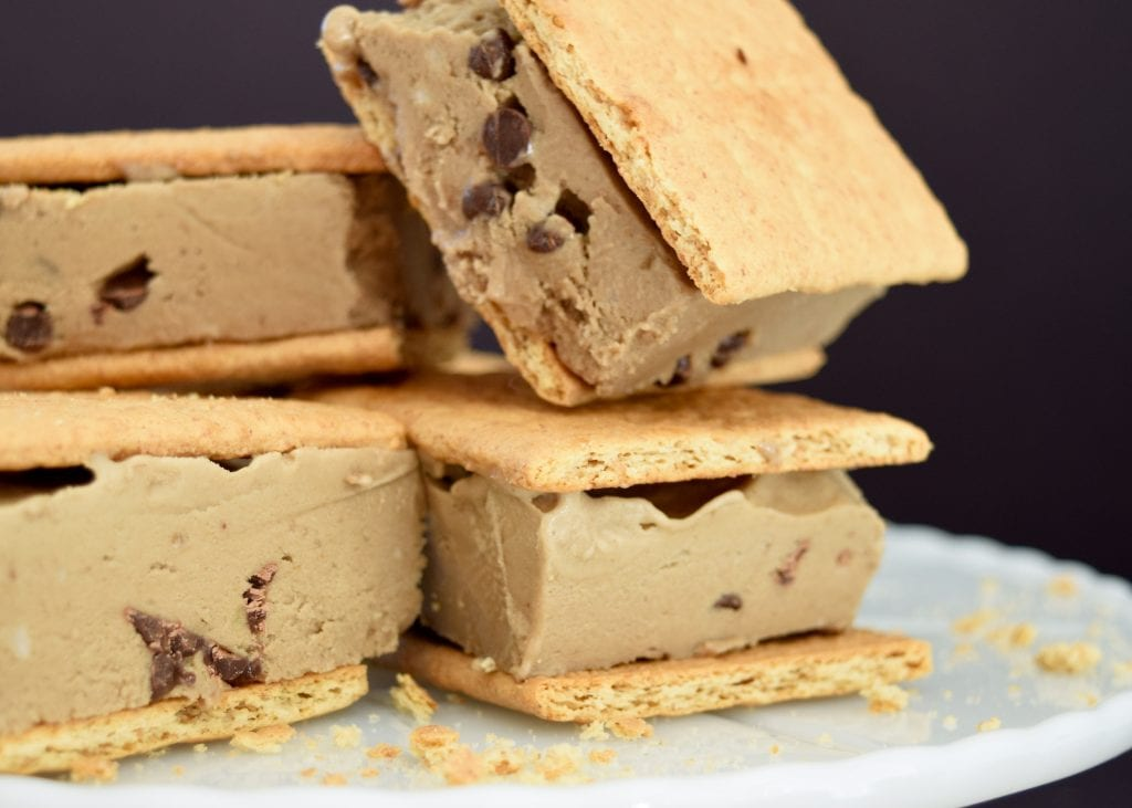 Peanut free banana ice cream sandwiches by Jennifer Perkins