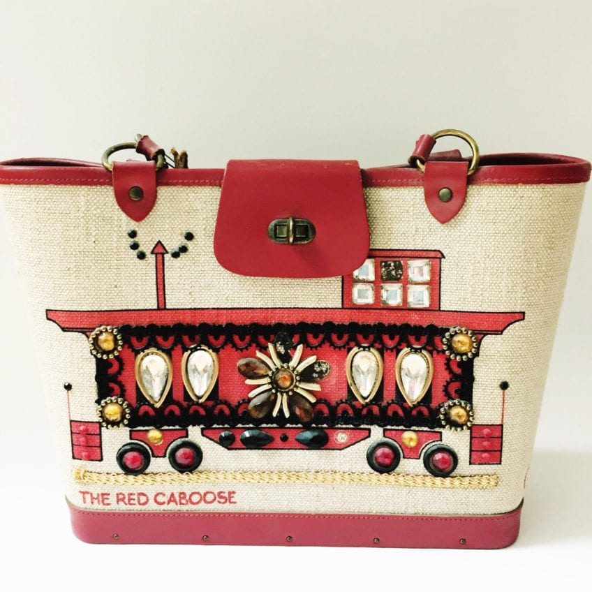 The Red Caboose purse by Enid Collins.