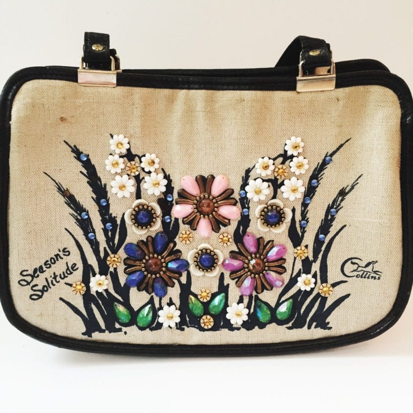 Enid Collins Season's of Solitude purse.