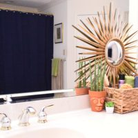 Bathroom Makeover for Under $200