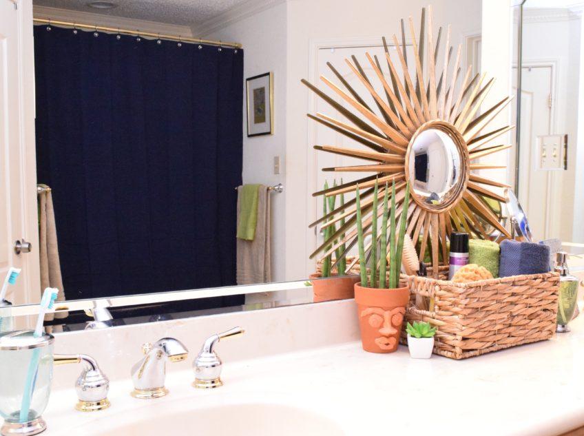 Bathroom Makeover for Under $200