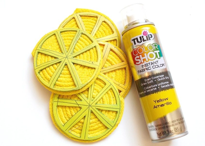 lemon-slice-coasters-painted