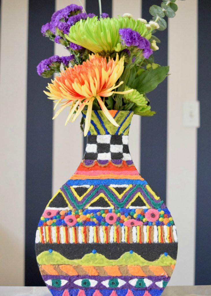 sand-vase