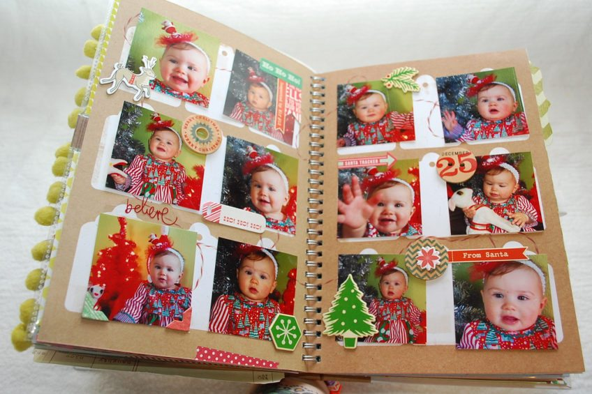 December daily ideas for holiday memory keeping.