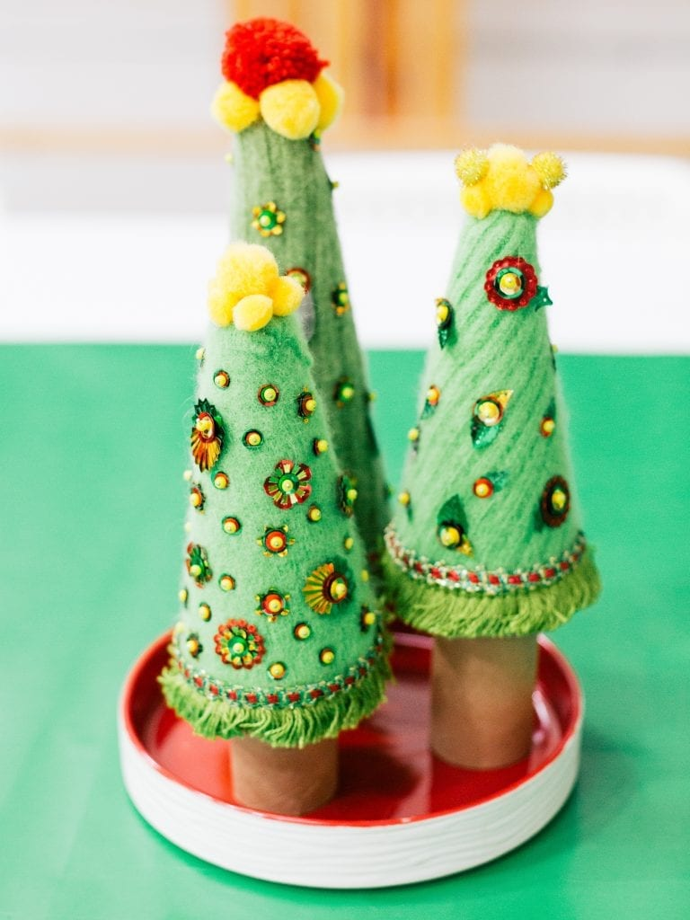 How to make a DIY sweater tree.