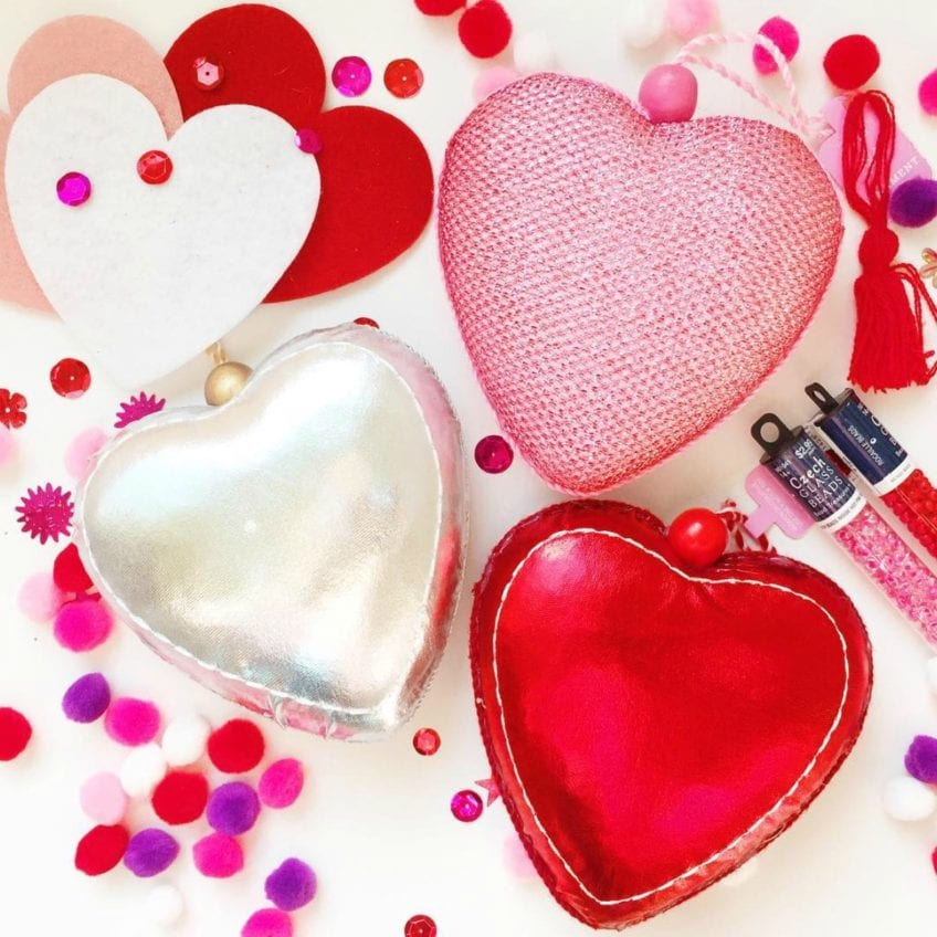 Fun valentine ornaments with the kids jennifer perkins for Christmas ornament sale clearance