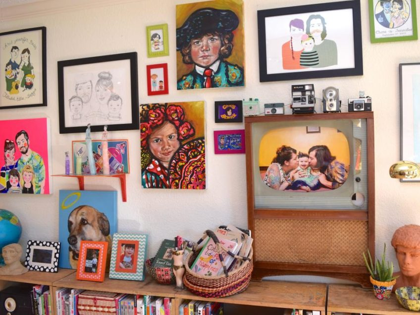 DIY Network gallery wall ideas.