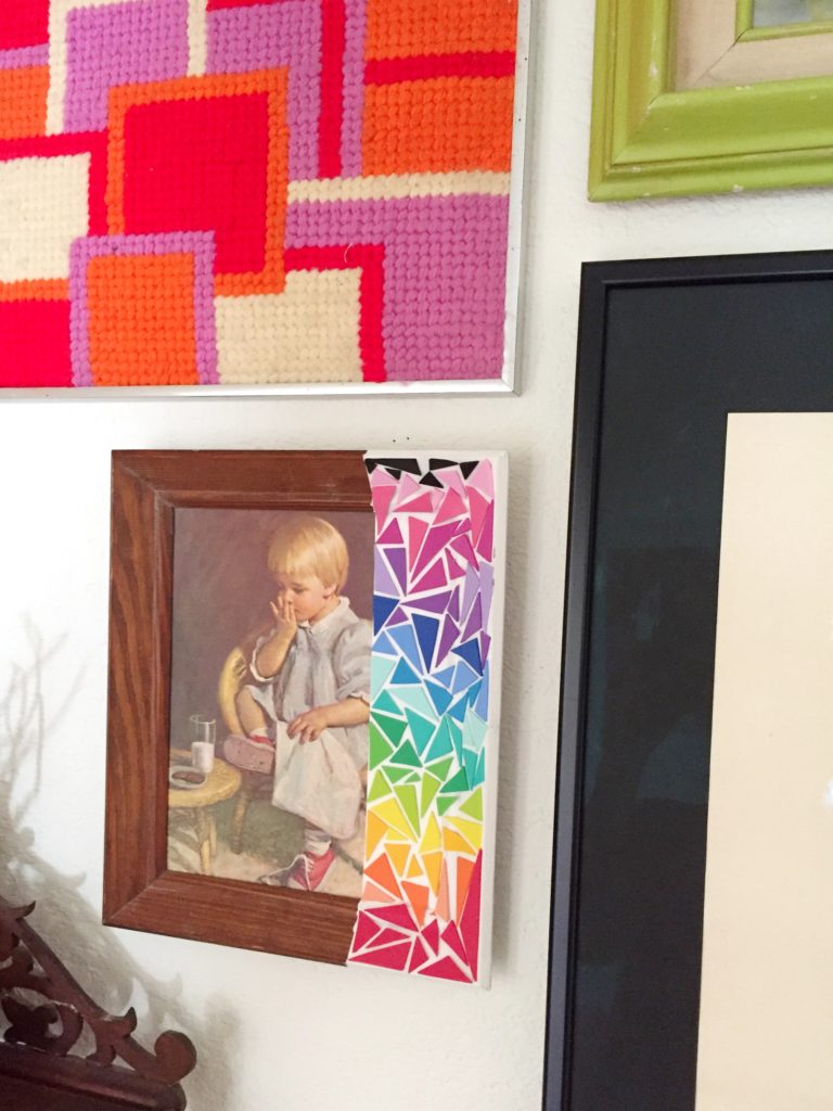 How to revamp thrift store art.