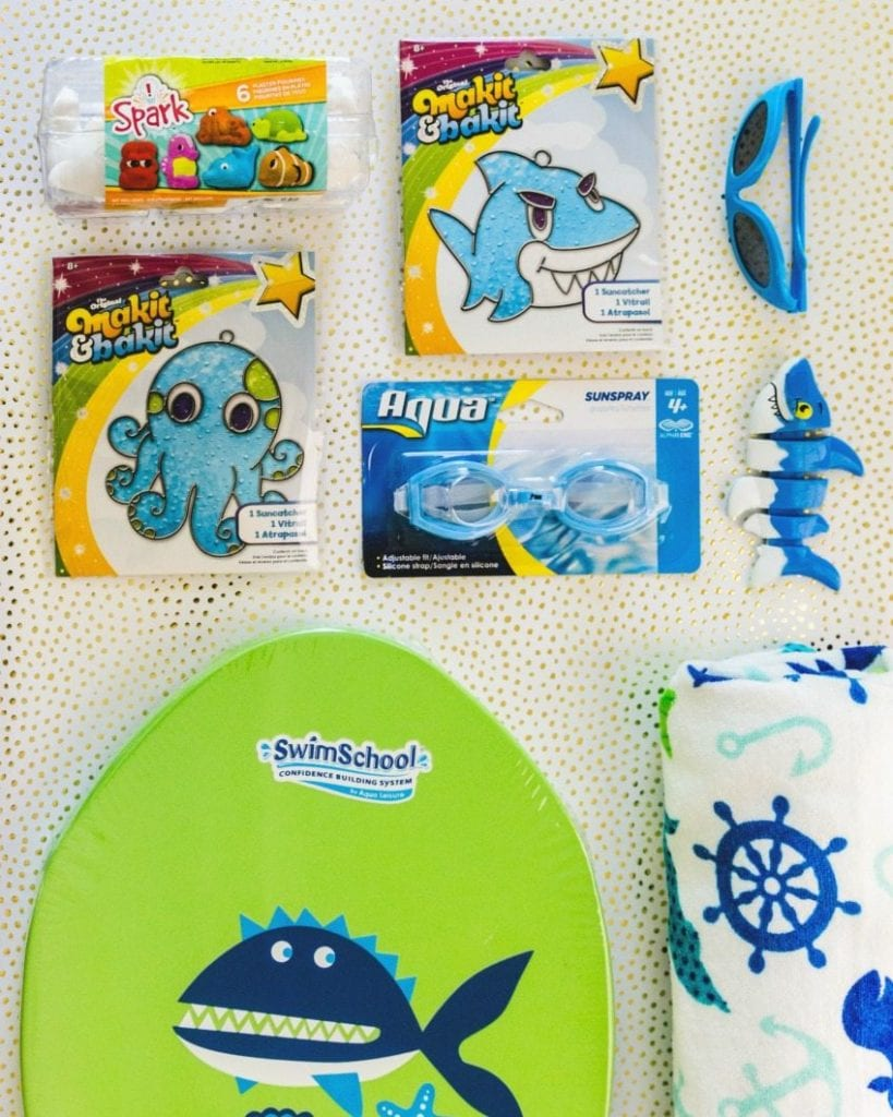 How to make an ocean themed Easter basket.
