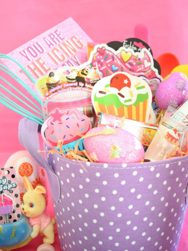 Baking Themed Easter Basket.