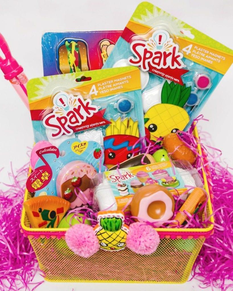 Fast food themed Easter basket.