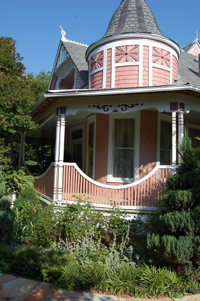 Home Tour of a Pink Victorian.
