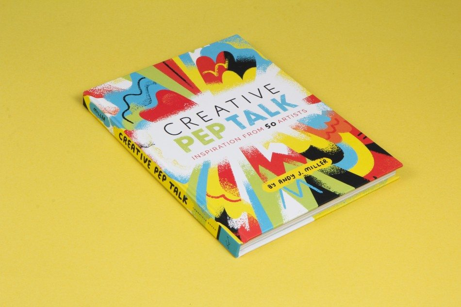 A review and giveaway of Creative Pep Talk.