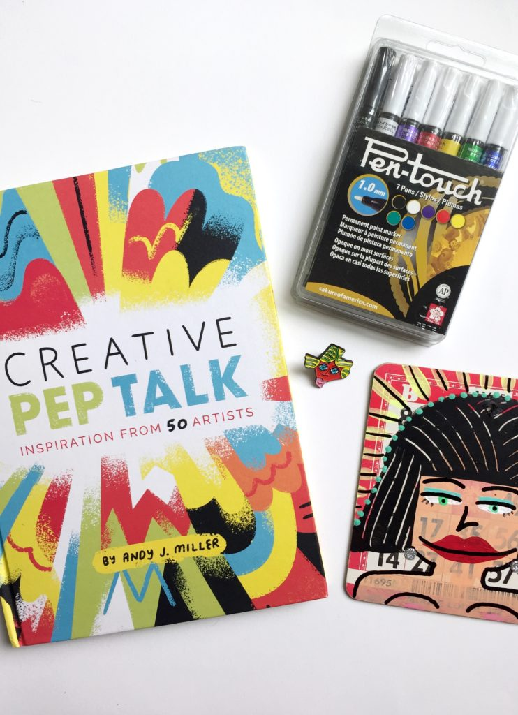 Win a copy of Creative Pep Talk.