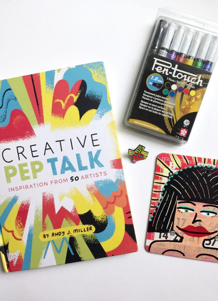 Win a copy of Creative Pep Talk.