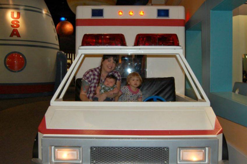 Trip to the McKenna Children's Museum.
