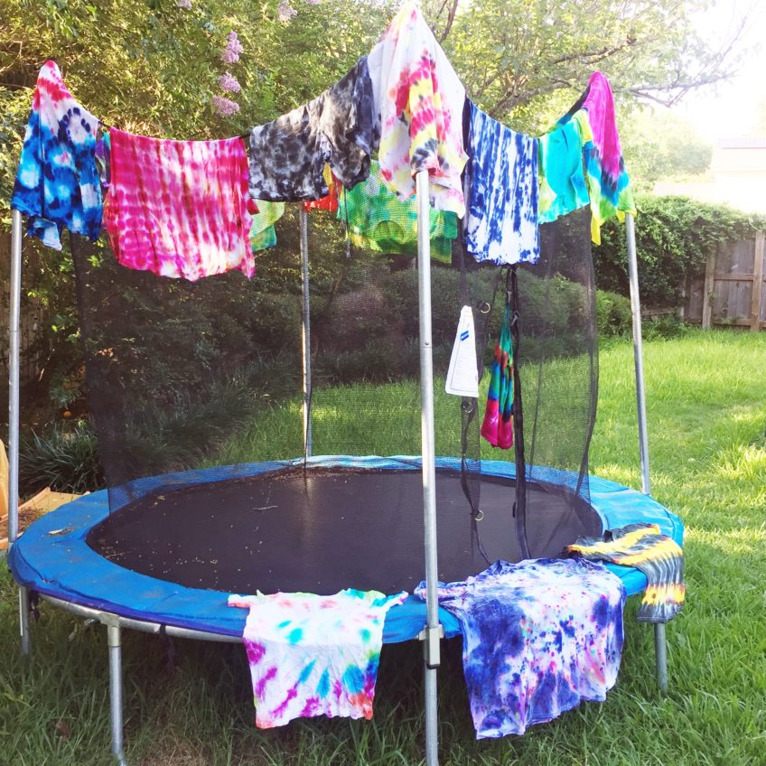 Tie-Dye Shirts for Father's Day by Jennifer Perkins