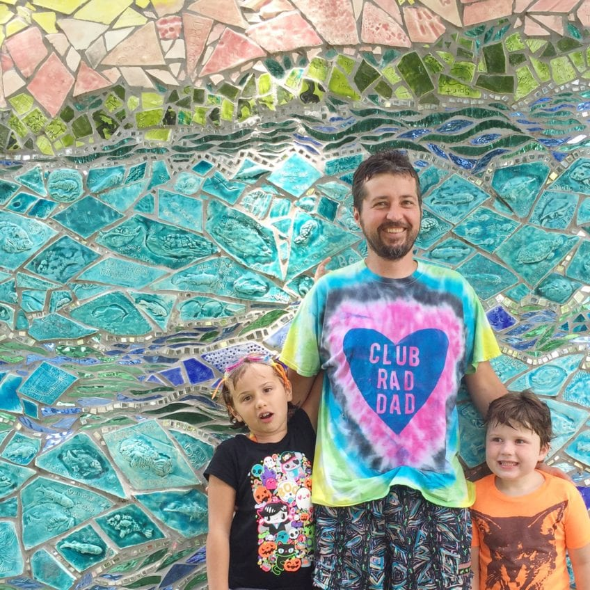 Make a Rad Dad shirt for Father's Day by Jennifer Perkins