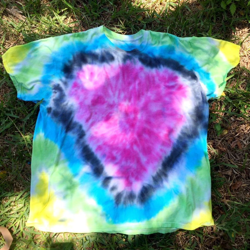 Father's Day tie-dye shirt by Jennifer Perkins