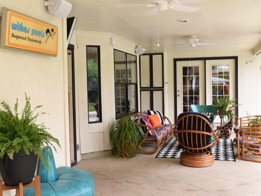 Creating a bohemian backyard paradise by Jennifer Perkins