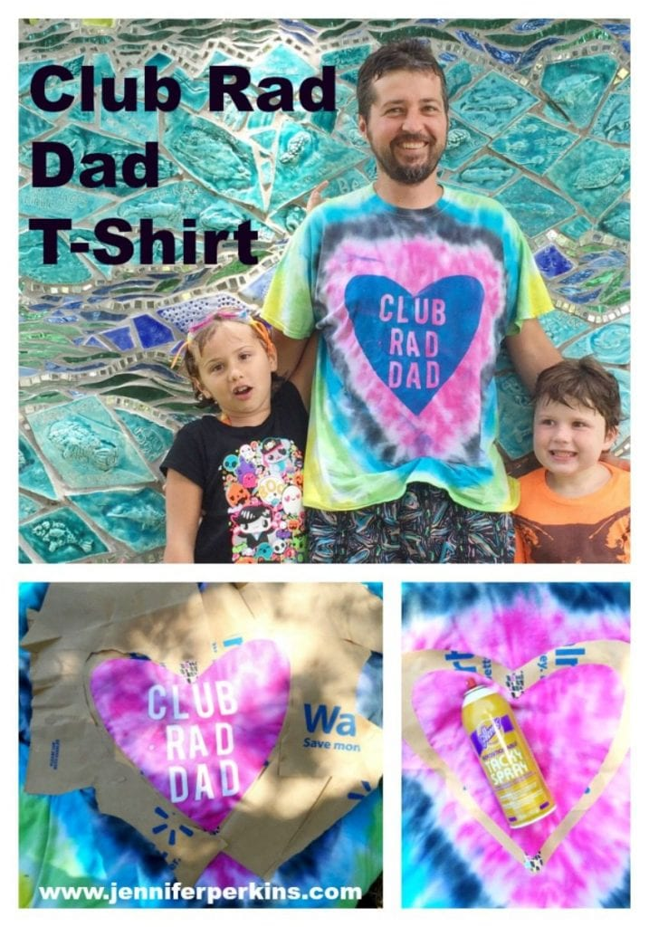 Club Rad Dad T-Shirt for Father's Day by Jennifer Perkins