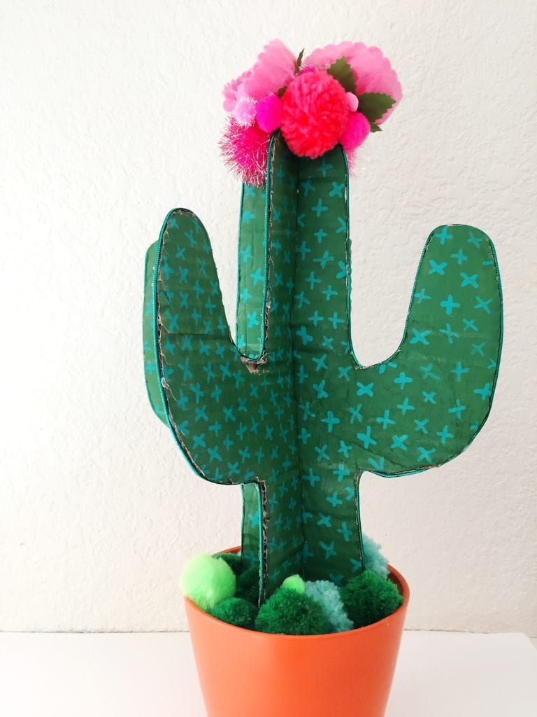 DIY Cardboard Cactus by Jennifer Perkins