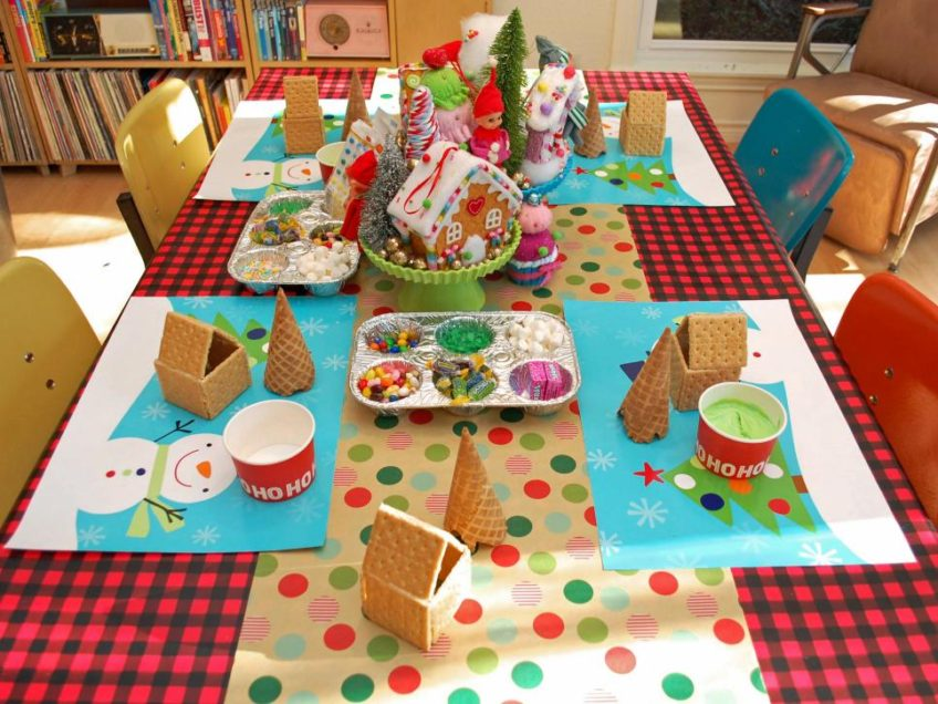 How to host a gingerbread house party for kids by Jennifer Perkins